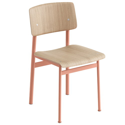 Muuto Sedia Loft, dusty rose - rovere