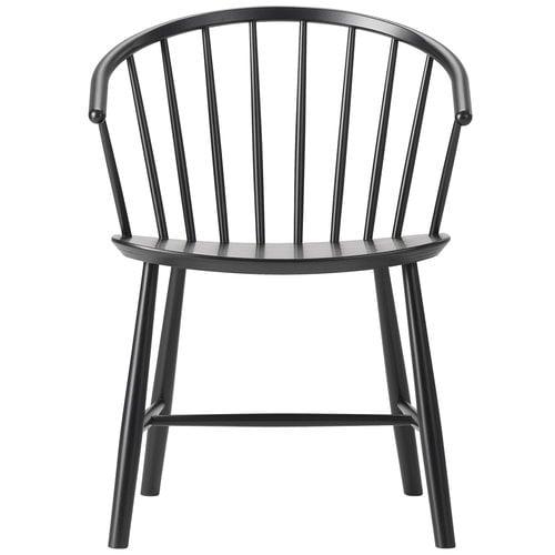 Fredericia J64 Johansson tuoli, musta saarni