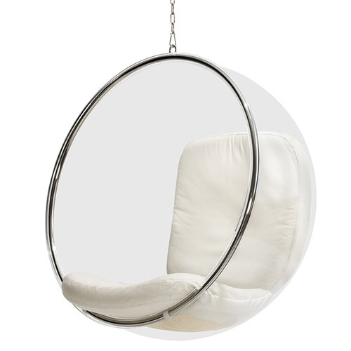 Eero Aarnio Originals Sedia Bubble Chair, bianca