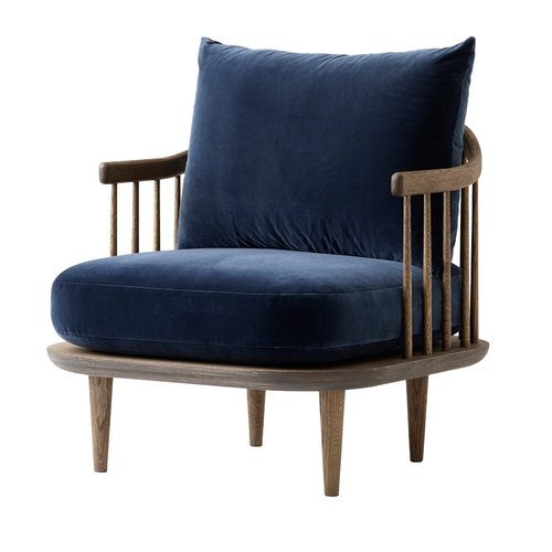 &Tradition  Fly SC10 lounge chair, smoked oak, Harald2 182