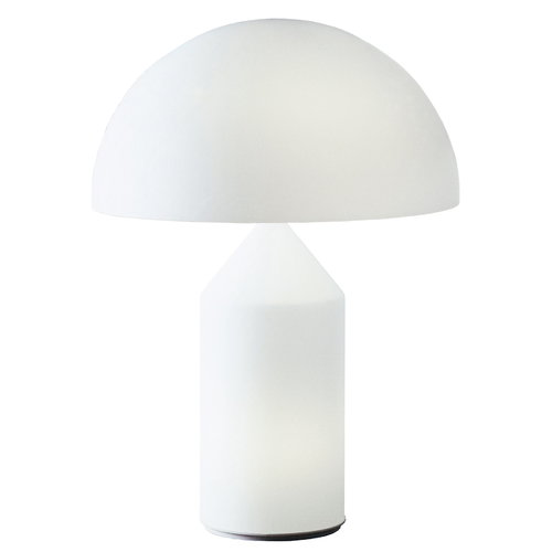 Oluce Atollo 235 table lamp, white