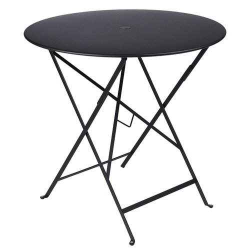 Fermob Bistro table 77 cm, liquorice