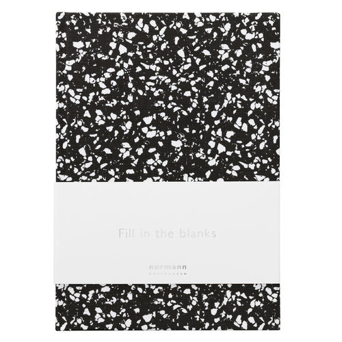 Normann Copenhagen Daily Fiction notebook, large, busy structure