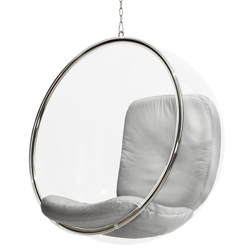 Eero Aarnio Originals Bubble Chair, silver