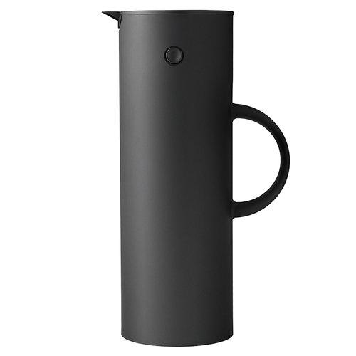 Stelton EM77 vacuum jug 1,0 L, black metallic