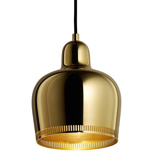 Artek Aalto Golden Bell pendant A330S Savoy, brass
