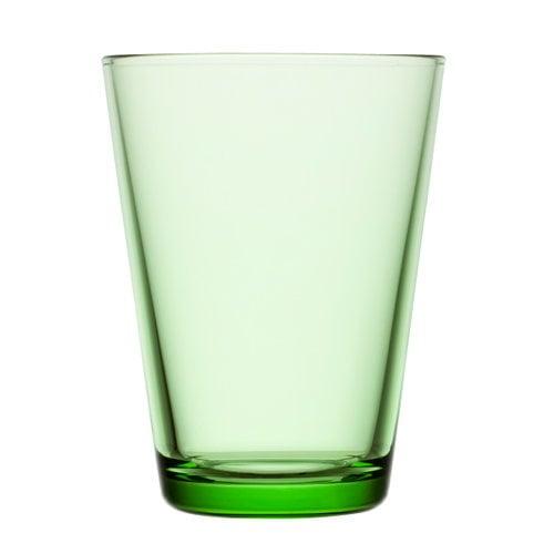 Iittala Kartio juomalasi 40 cl, omenanvihre�, 2 kpl
