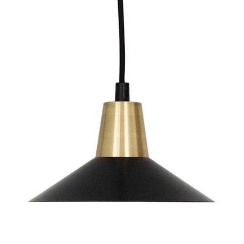 Studio Joanna Laajisto Edit pendant lamp, black-brass