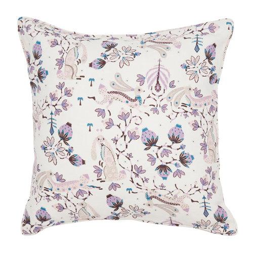 Klaus Haapaniemi Rabbit cushion cover, white