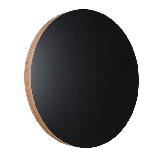 Kotonadesign Kotona noteboard round, black