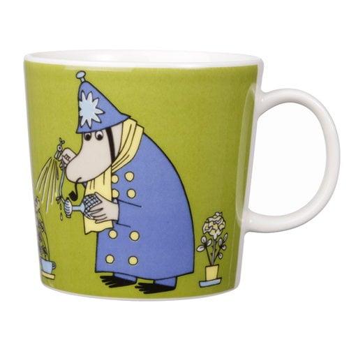 Arabia Moomin mug Constable, olive