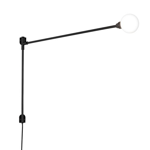 Nemo Lighting Potence Pivotante Mini wall lamp, black