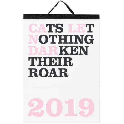 Noa Bembibre Cats Let Nothing Darken Their Roar calendar 2019