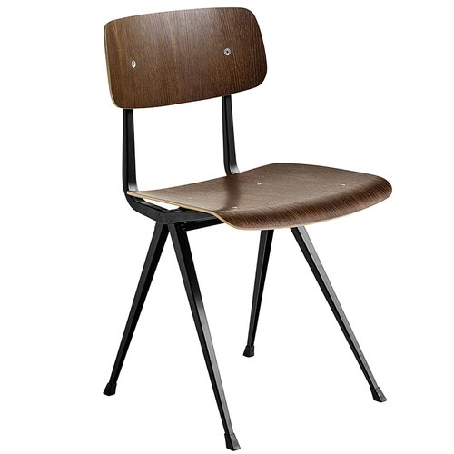 Hay Result chair, black - smoked oak