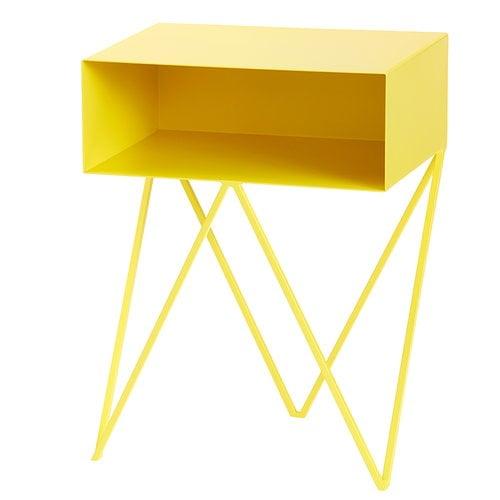 &New Robot sivupöytä, keltainen