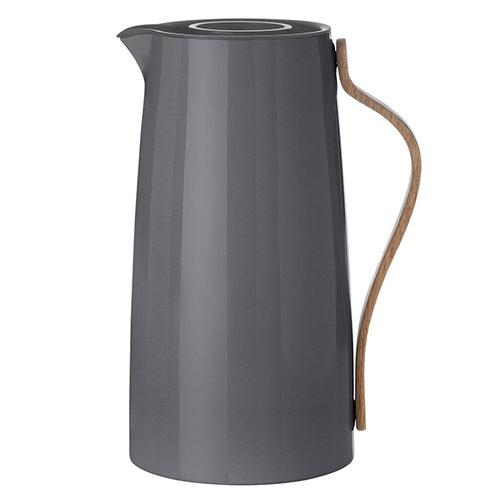 Stelton Emma vacuum jug, dark grey