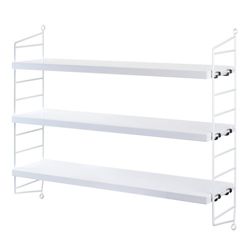 String String Pocket shelf, white
