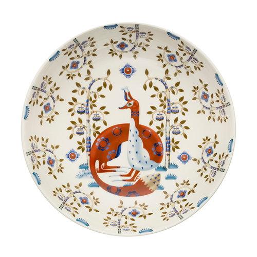 Iittala Taika deep plate 22 cm, deco white