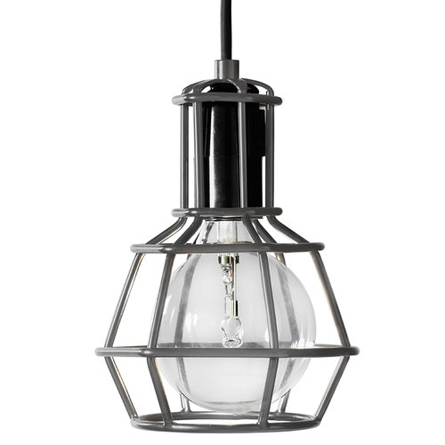 Design House Stockholm Work Lamp valaisin, harmaa