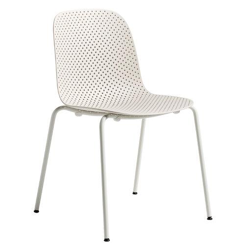Hay 13Eighty chair, grey white - nude