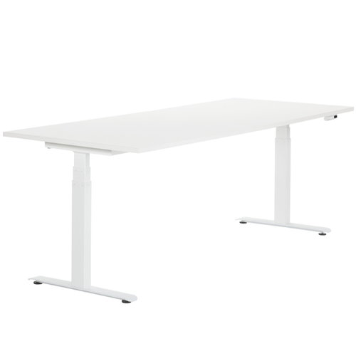 Adi 24/7 electric table, white