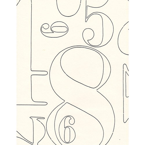 Pihlgren ja Ritola 2+3 wallpaper, white-black