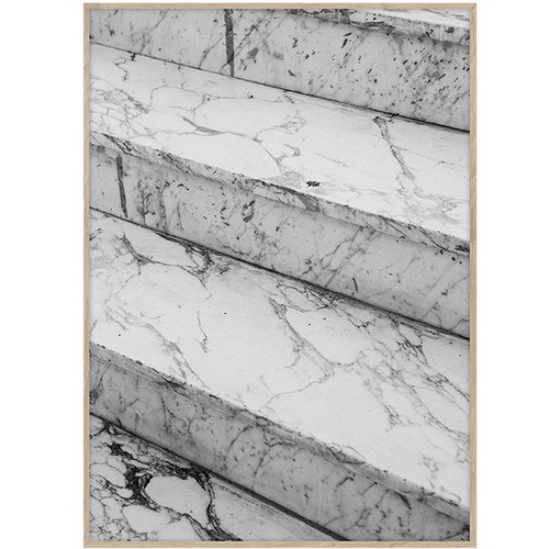 Paper Collective Marble Steps poster