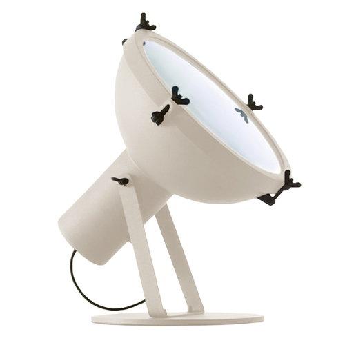 Nemo Lighting Projecteur 365 floor lamp, white sand
