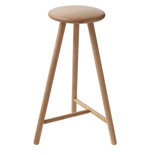 Nikari Perch bar stool 63 cm, oak