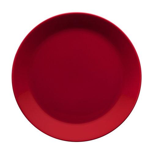Iittala Teema lautanen 21 cm, punainen
