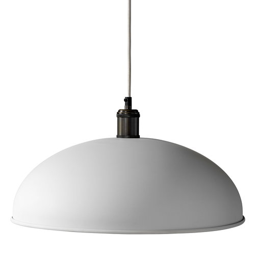 Menu Tribeca Hubert pendant 45 cm, white