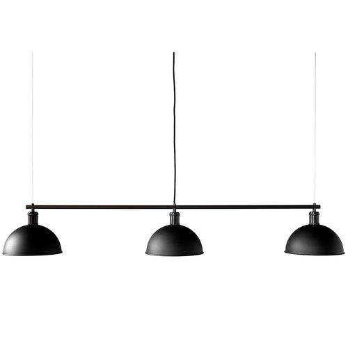 Menu Tribeca Hubert pendant with suspension frame, black