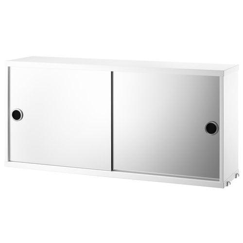 String String mirror cabinet, white