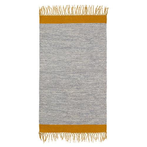 Ferm Living Melange bathroom rug, grey-yellow
