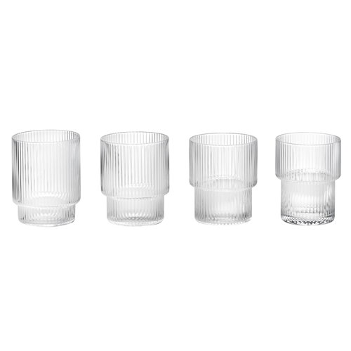 Ferm Living   Ripple glasses, 4 pcs