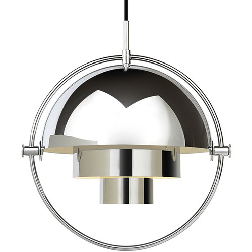 Gubi Multi-Lite pendant, chrome