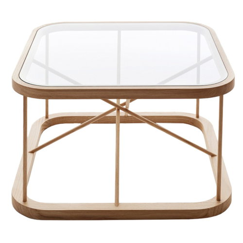 Woodnotes Twiggy table 66,5 x 66,5 cm, oak