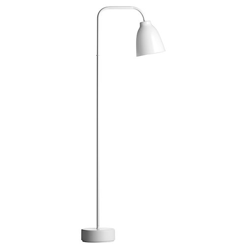 Lightyears Caravaggio Read floor lamp, opal