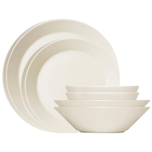 Iittala Teema starter set 8 pcs, white