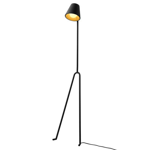 Design House Stockholm Manana floor lamp, dark grey