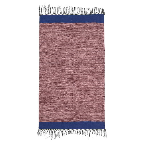 Ferm Living Melange bathroom rug, rose-blue