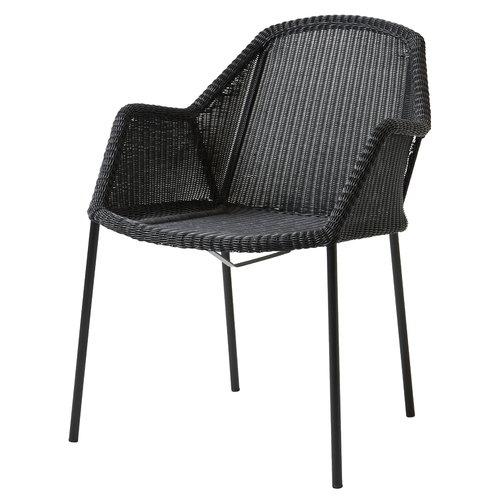 Cane-line Breeze pinottava tuoli, musta