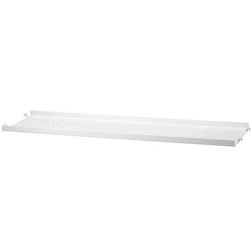 String String metal shelf 20 cm, low, white