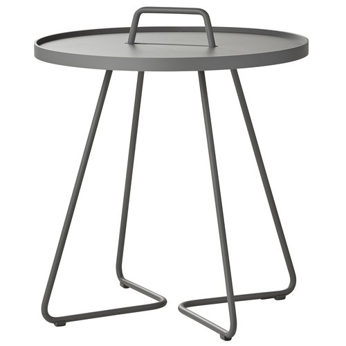 Cane-line On-the-move table, large, light grey
