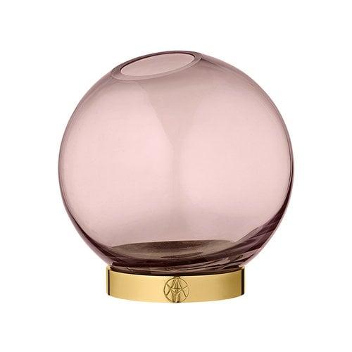 AYTM Globe vase, small, rose - gold