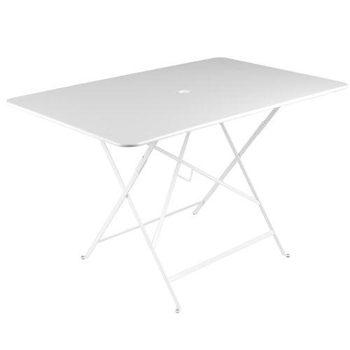 Fermob Bistro pöytä 117 x 77 cm, cotton white