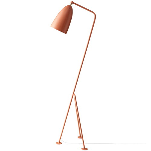 Gubi Gr�shoppa floor lamp, vintage red