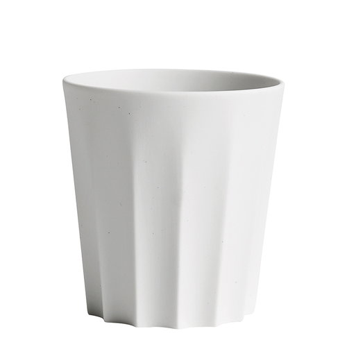 Hay Iris mug, sharp, off-white