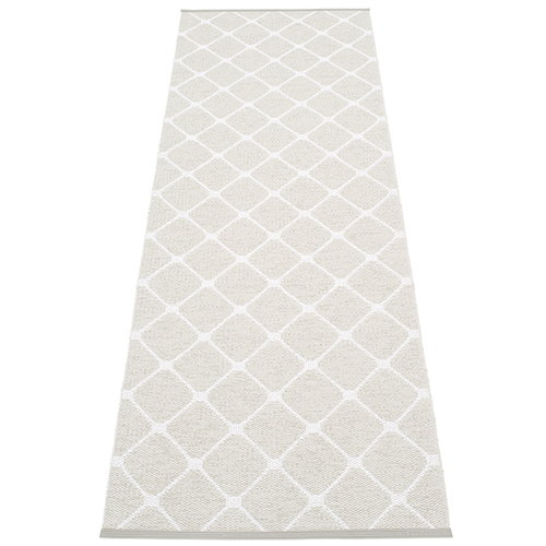 Pappelina Rex rug, 70 x  240 cm, fossil grey