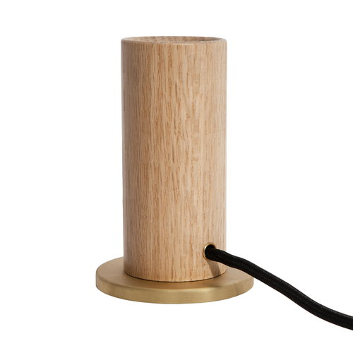 Tala Oak Touch table lamp base, oak